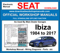 Seat ibiza Service Repair Workshop Manual Download